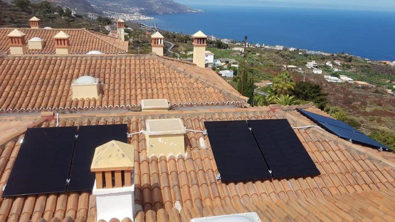 Instalación residencial Solaredge de 2kw y paneles Sunpower Black