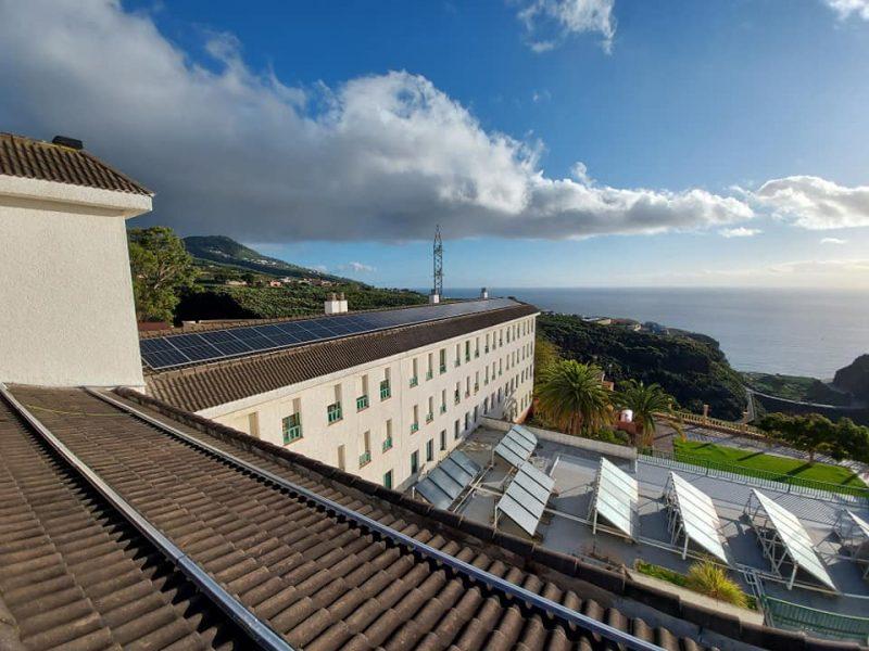 Instalación fotovoltaica de 32kWp para autoconsumo conectado a red en la Residencia de Pensionistas de La Isla de la Palma
