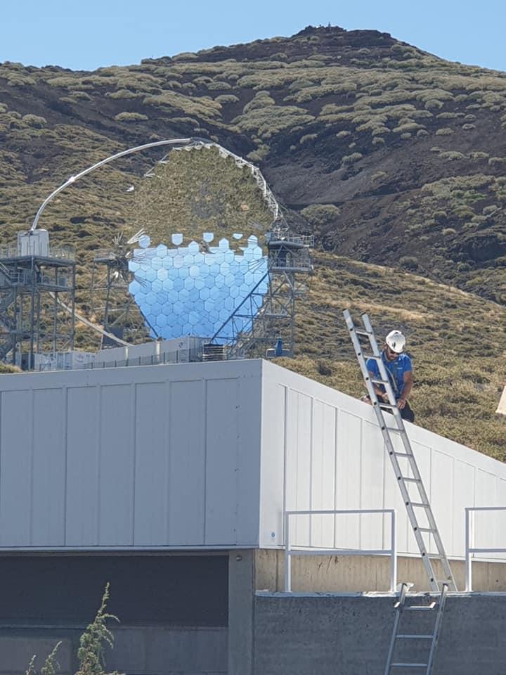 Instalación de autoconsumo conectada a red 70,2kW Instituto de Astrofísica de Canarias