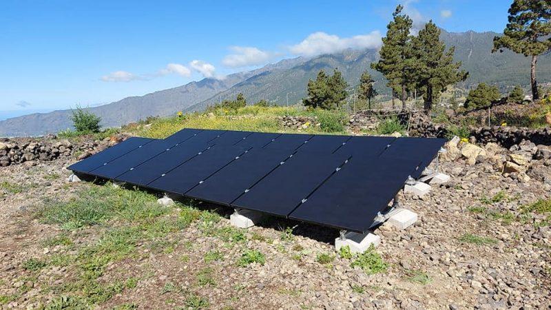 Instalación de autoconsumo residencial Aislada 7kw de potencia y 20Kwh en acumulación.