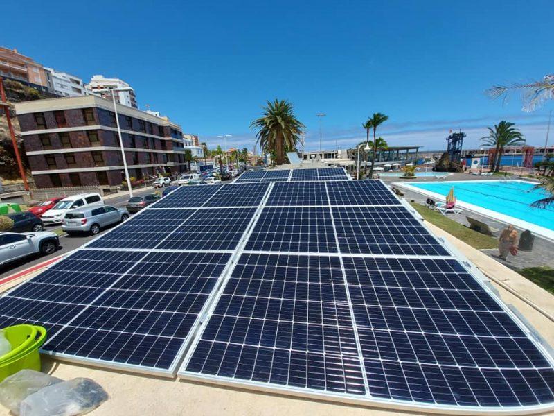 Instalación de Autoconsumo conectada a red 30kW  Real Club Náutico de Santa Cruz de La Palma