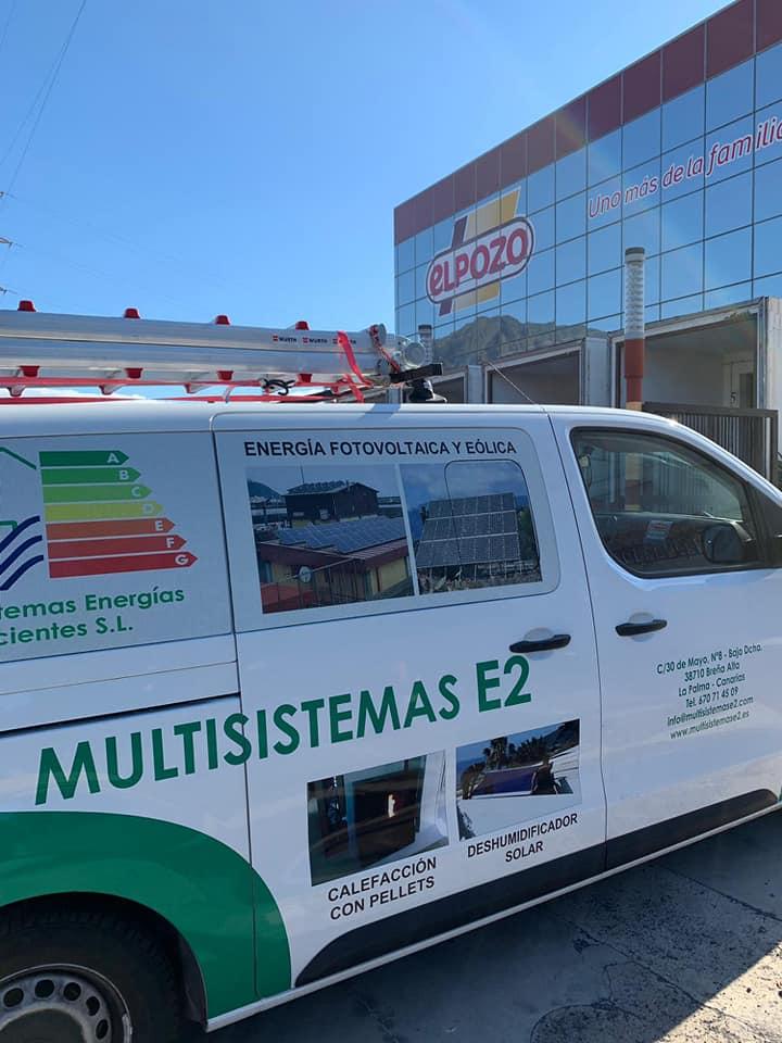Instalación de Autoconsumo Industrial 86kW El Pozo Alimentación Tenerife